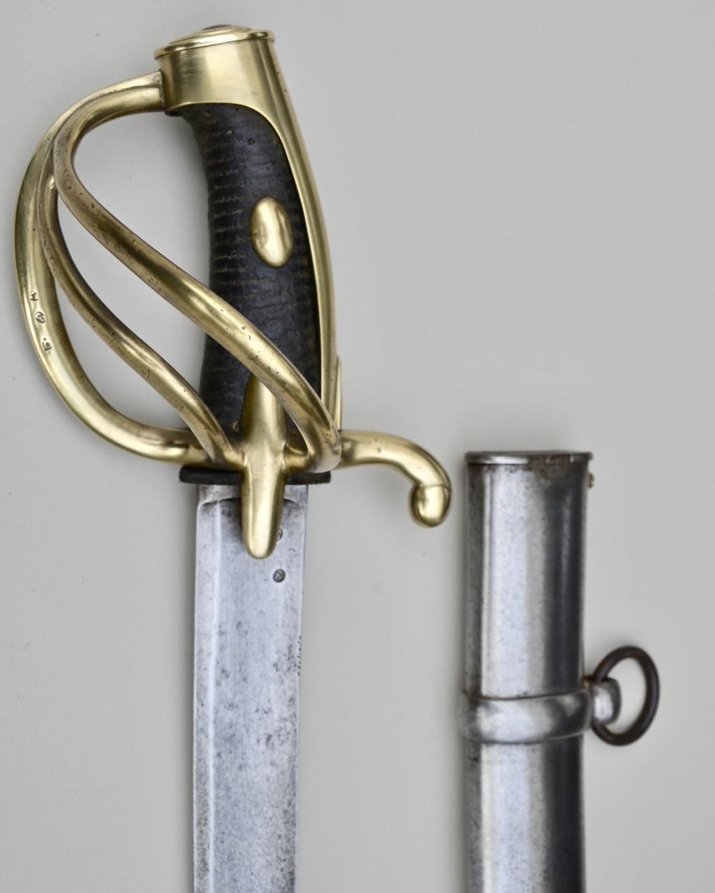 Identification sabre cavalerie légère an IX ou an XI 09cd9b10