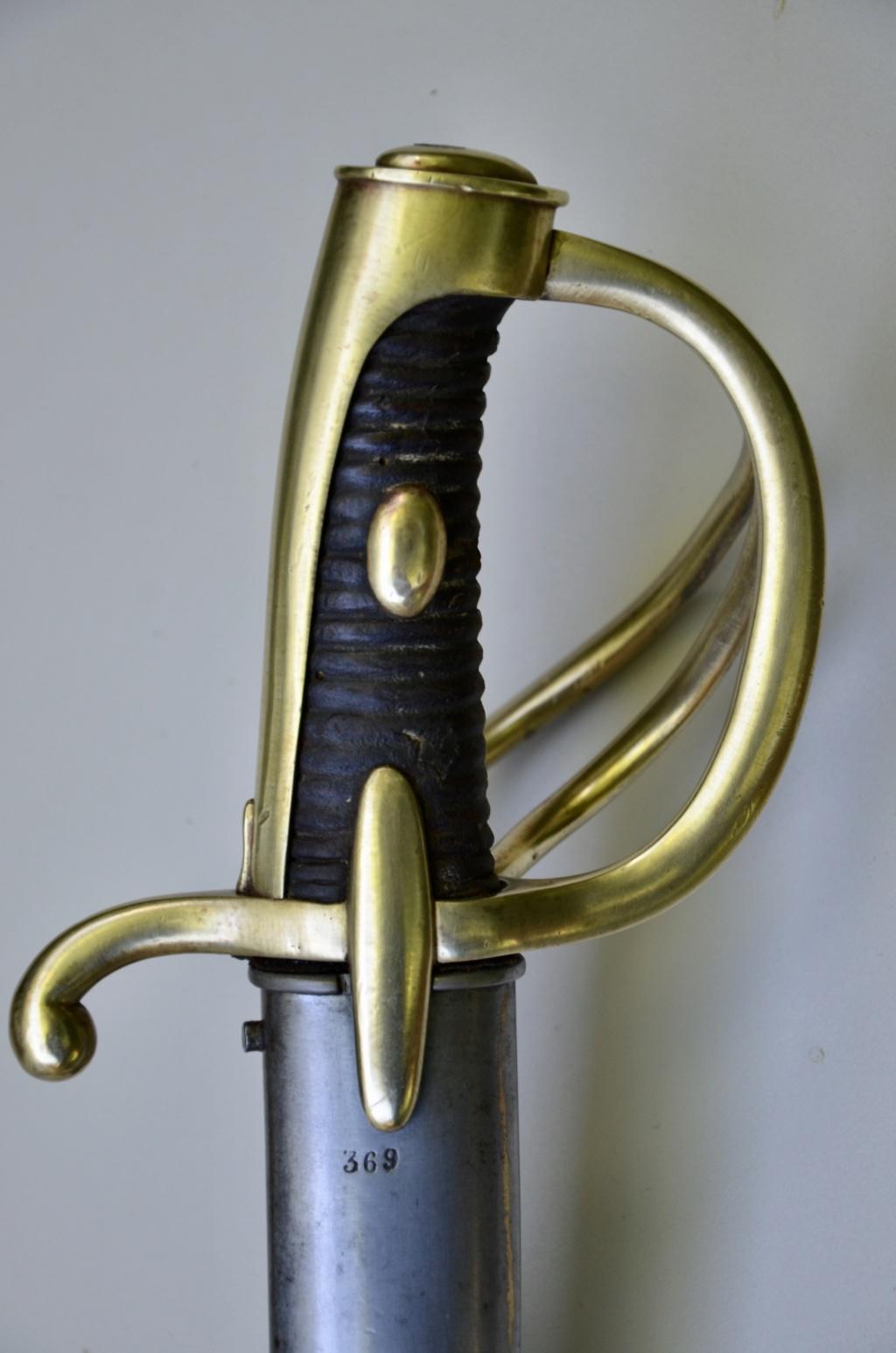 Identification sabre cavalerie légère an IX ou an XI 1ebfb910