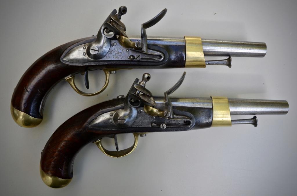 Paire de pistolets an 13 Tulle 1813 1f787210