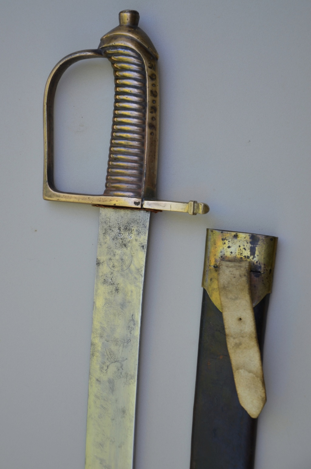 Les sabres briquets 1ère partie : les modèles 1767 et 1790 26fb3010