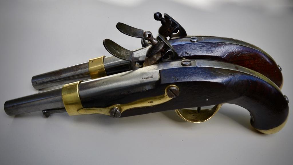 Paire de pistolets an 13 Tulle 1813 4cac6710