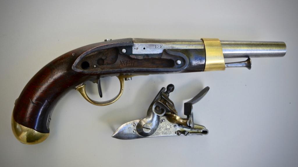 Paire de pistolets an 13 Tulle 1813 5d5dde10