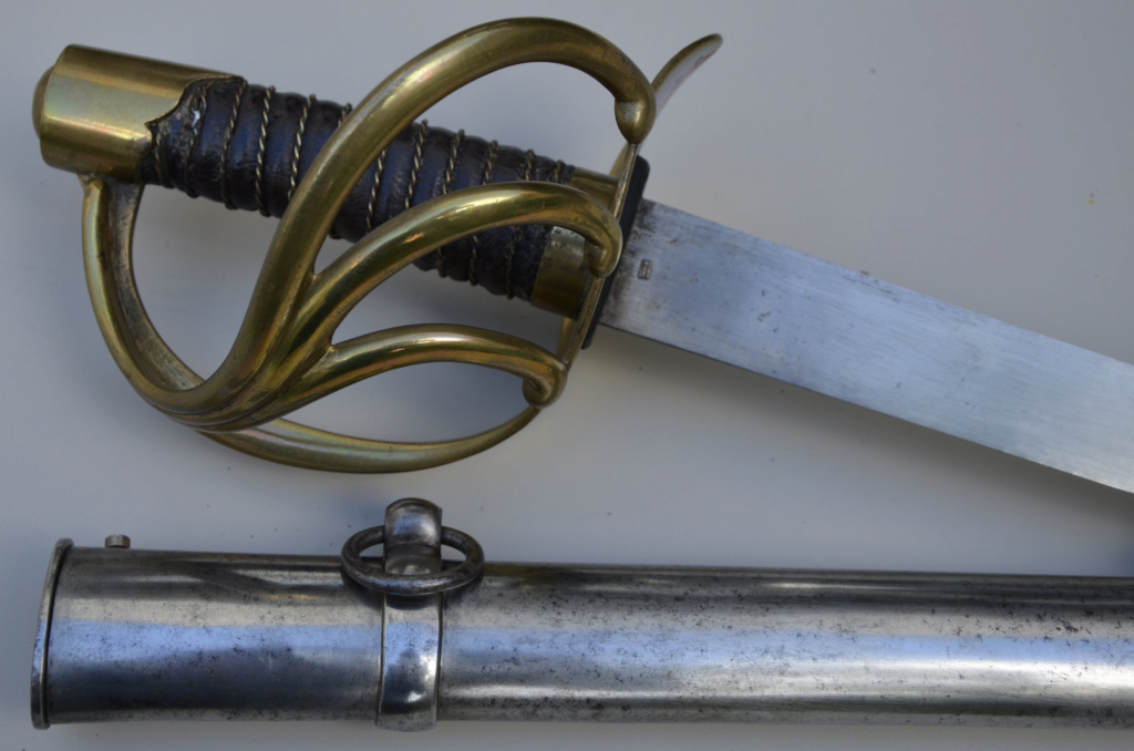 Un sabre français de cuirassiers premier empire 71590a10