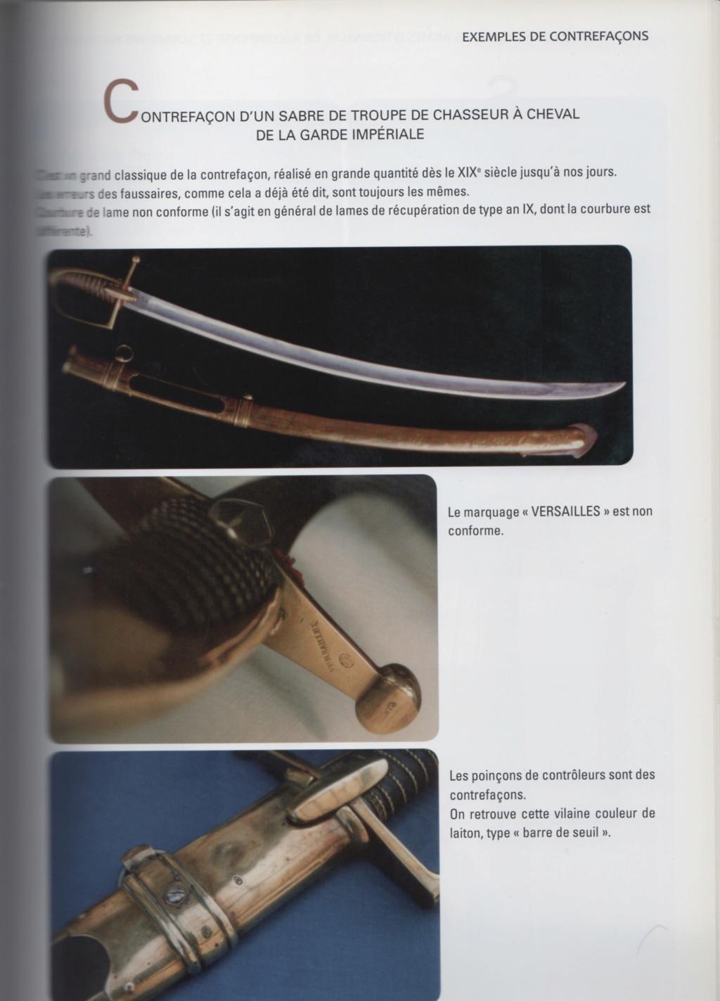 Sabre de Chasseur à Cheval de la Garde Impériale pour inspection. 73f07110