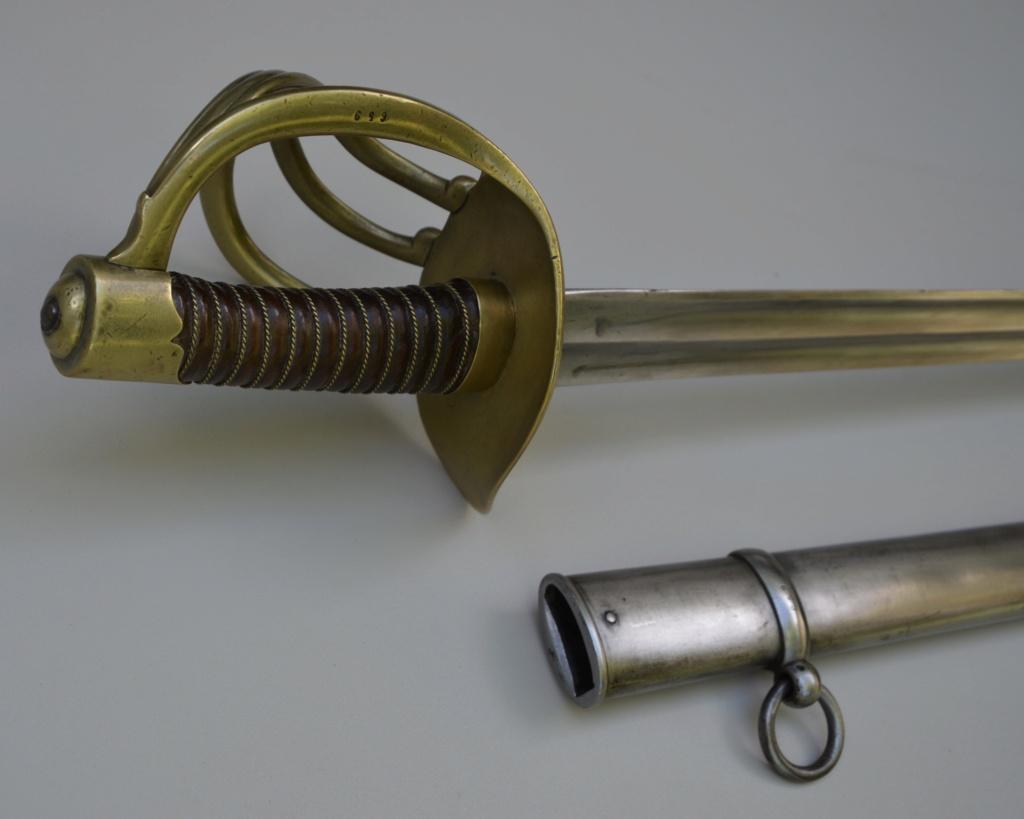 Un sabre français de cuirassiers premier empire 88914710