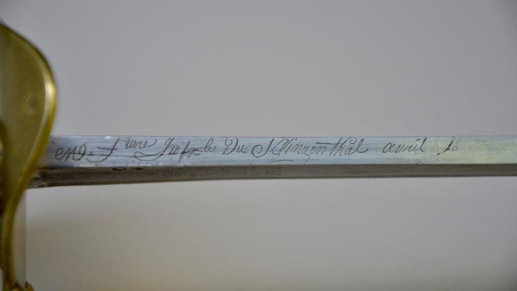 Un sabre français de cuirassiers premier empire Ab079311