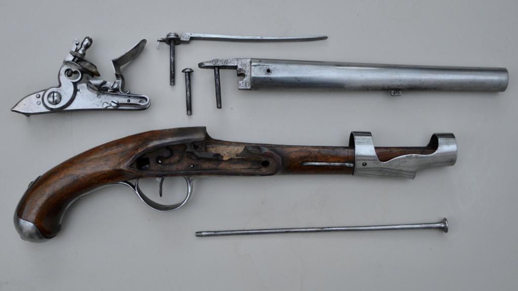 Pistolet de cavalerie 1763/66 version révolutionnaire C119cb10