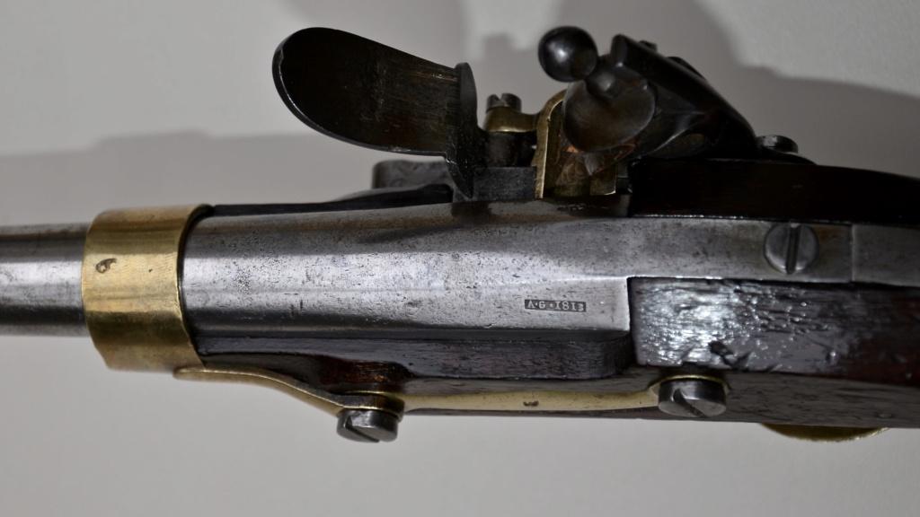 Paire de pistolets an 13 Tulle 1813 C4612010