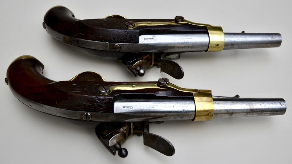 Paire de pistolets an 13 Tulle 1813 C7981810