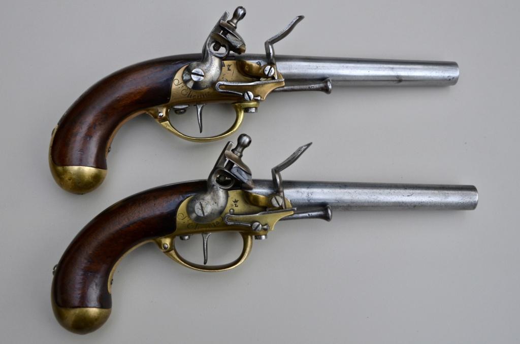 identification marquages pistolet 1777 deuxième modèle F1e41e11