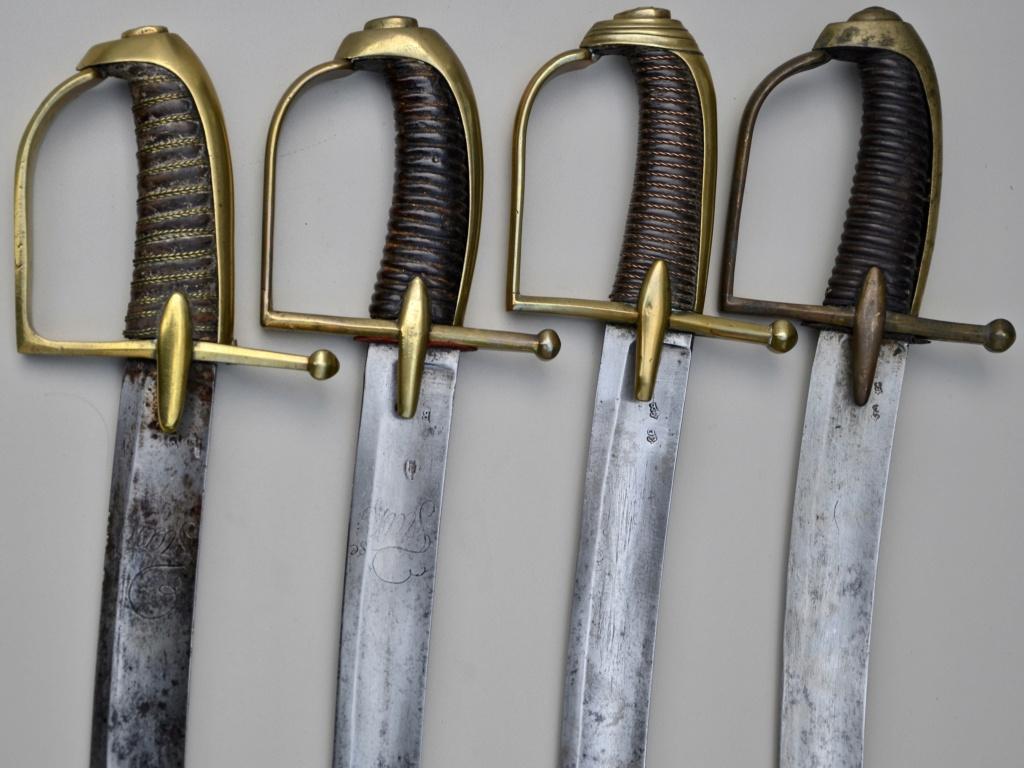 Sabres de hussards modèle 1777, variantes révolutionnaires Fullsi39
