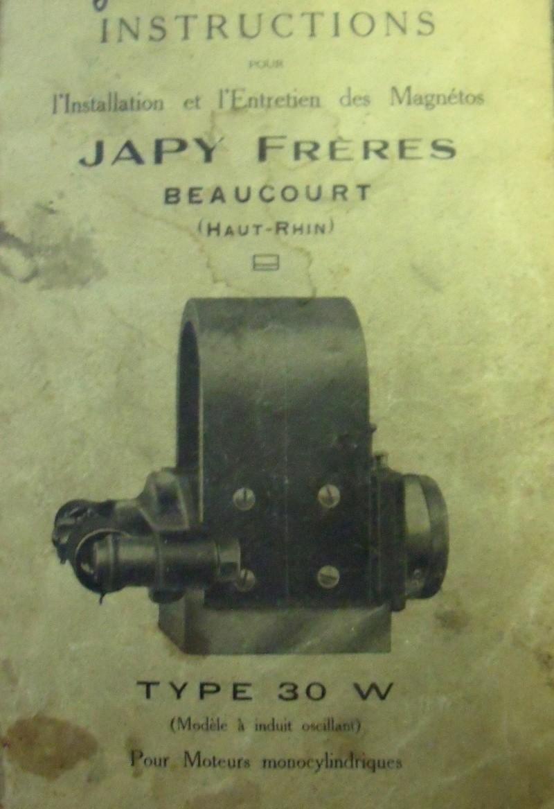 Japy - Un Japy avec magnéto Japy Dscf0710