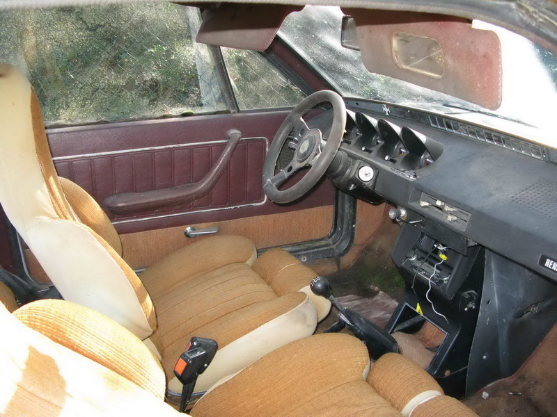Vend R17 Type 1322, de Novembre 1975, décapotable. Intari13