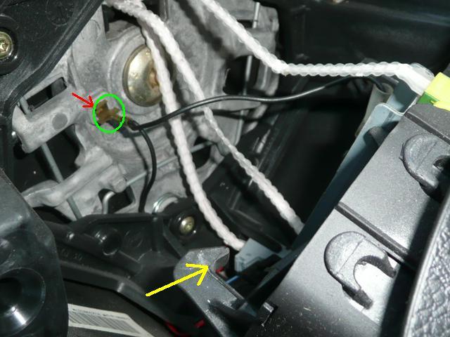 [ Peugeot 307 HDI 110 an 2002 ] fonctionnement aléatoire du klaxon (tuto) P1040818