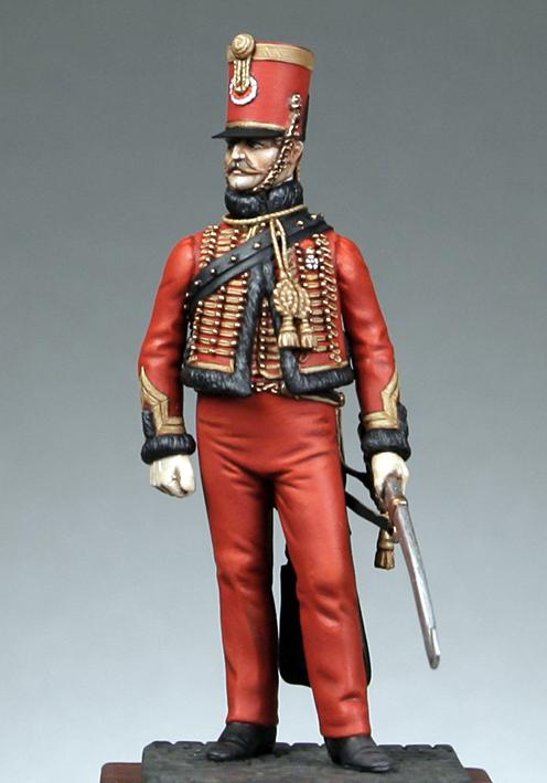 -Bataille de Reims 1814.... la fin !!!... Hussar10