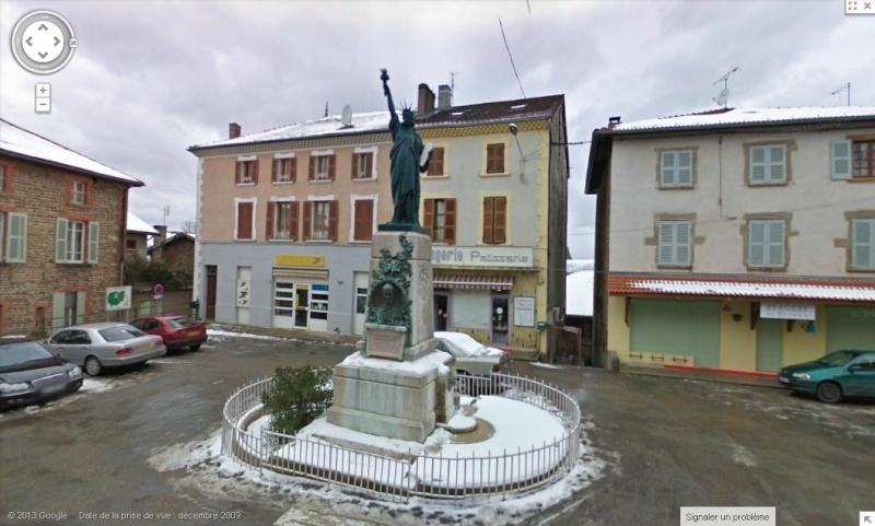 Statue de la Liberté = les répliques découvertes grâce à Google Earth - Page 4 Sans_146
