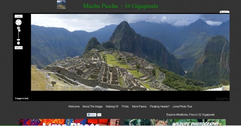 Gigapixels - Machu Picchu - Ça (encore) c'est du pixel !! Sans_242