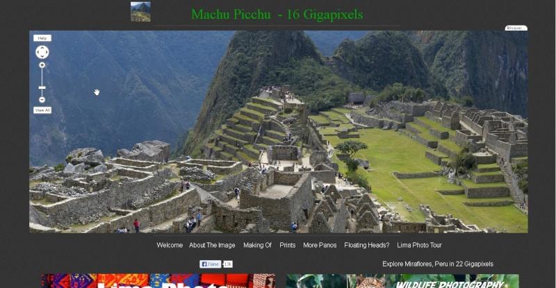 Gigapixels - Machu Picchu - Ça (encore) c'est du pixel !! Sans_243