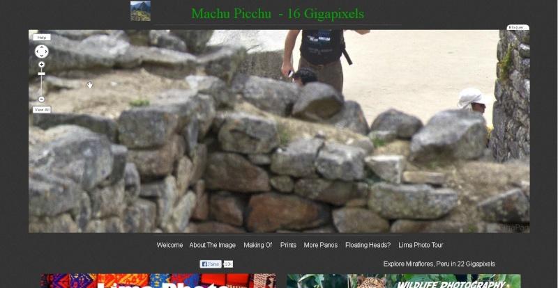 Gigapixels - Machu Picchu - Ça (encore) c'est du pixel !! Sans_245