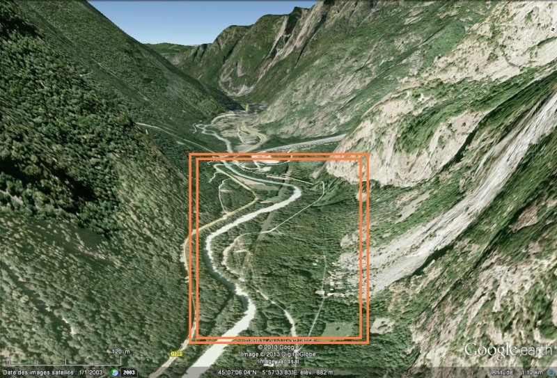 [Désormais visible sur Google Earth] - Le barrage hydroélectrique de Gavet sur la Romanche - Isère Sans_246