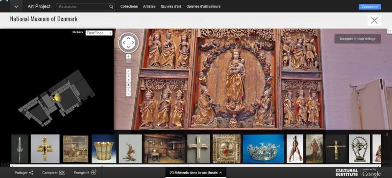 STREET VIEW : les musées en visite virtuelle - Page 6 Sans_417