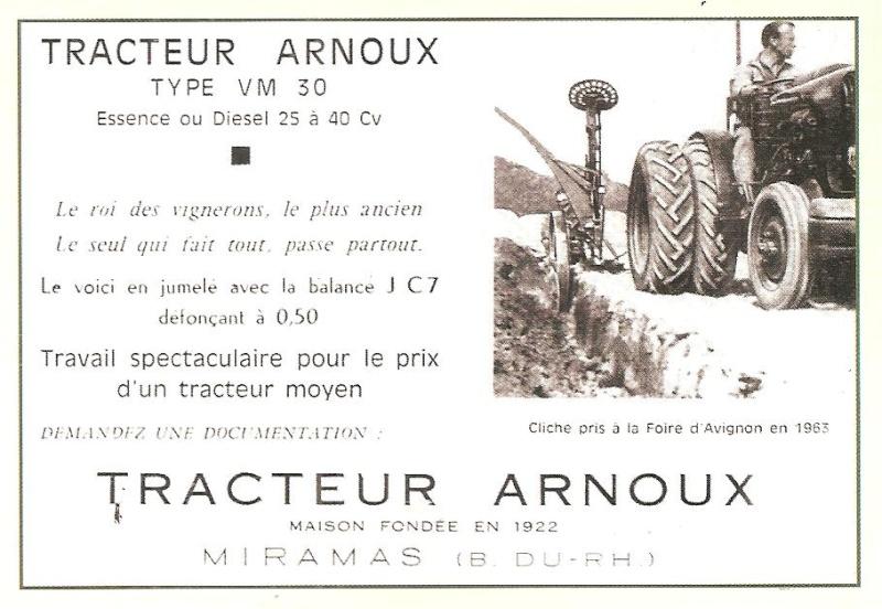 les TRACTEURS AGRICOLES à moteur 203 - Page 2 Arnoux14