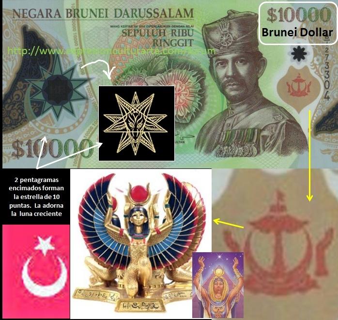 BILLETES DE DIVERSOS PAÍSES - Página 6 Brunei10