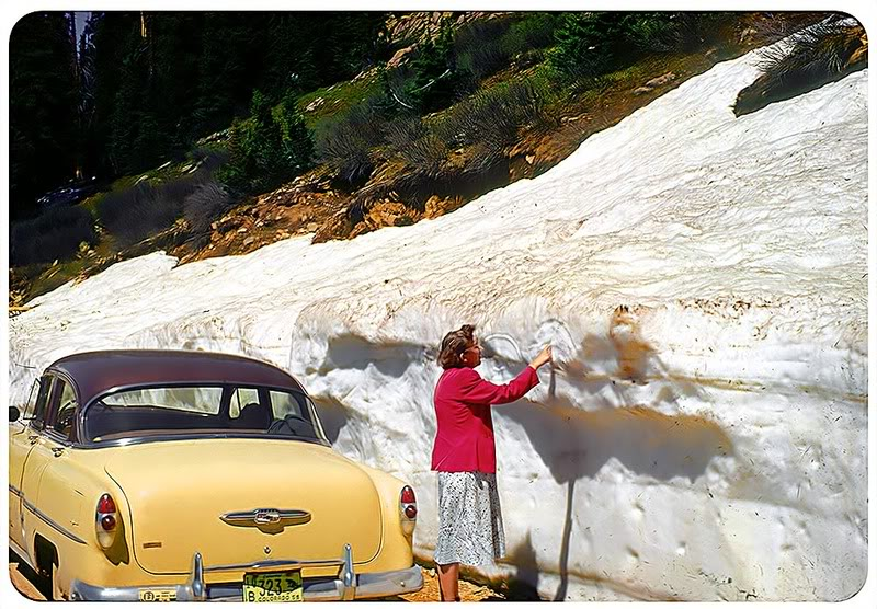 voitures et neige, cars and snow 2310