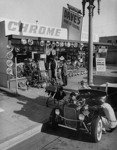 "Hot rod in street - Vintage pics - ""Photos rétros"" -  - Page 2 66b31710"