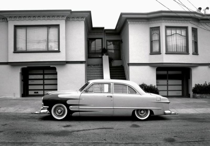 custom cars in the street ( 1950's & 1960's) 75837911