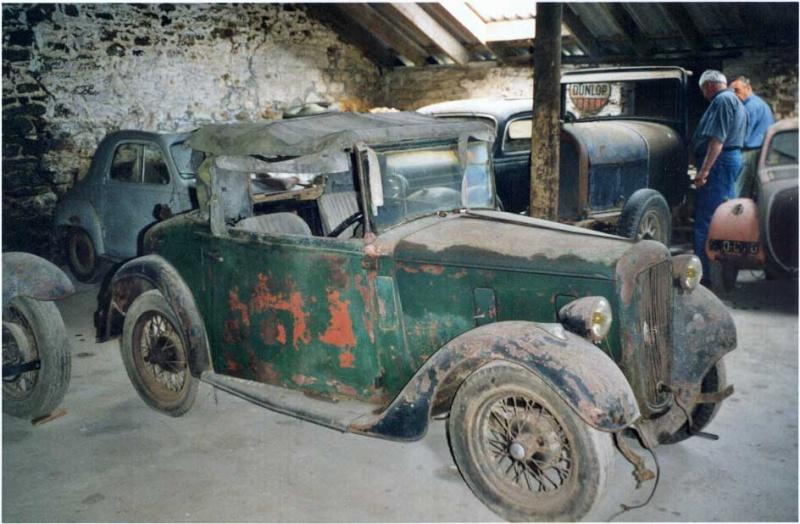 SEVEN  OPALE ROADSTER 1938 Austin10