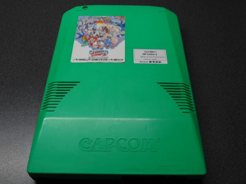 "[Vendu] CPS2 ""Super Street Fighter II The New Challengers"" Dsc03122"