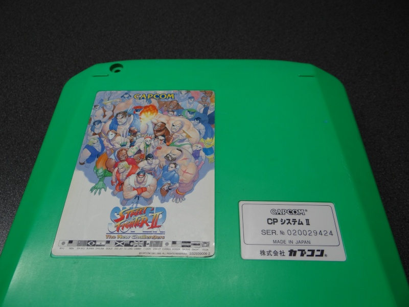 "[Vendu] CPS2 ""Super Street Fighter II The New Challengers"" Dsc03123"