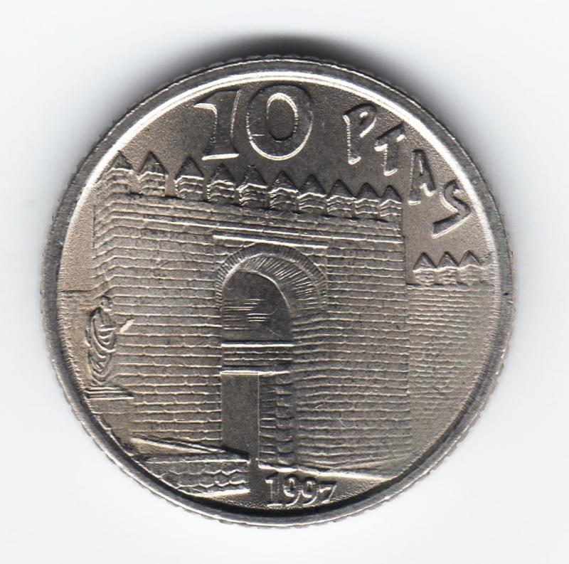 10 Pesetas. Séneca. 1997 - Juan Carlos I. Img85210
