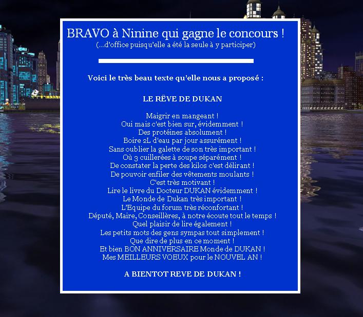GRAND CONCOURS ANNIVERSAIRE : Le forum a bientôt 1 an Gagnan10