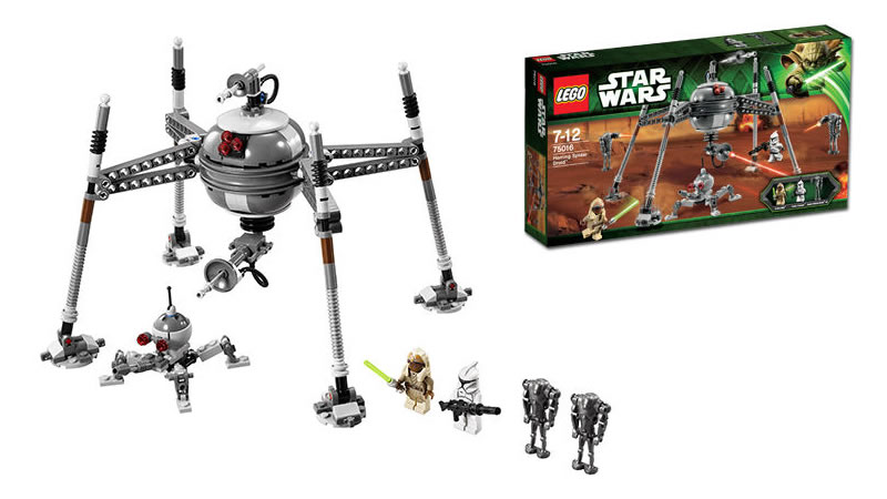 LEGO STAR WARS - 75016 - Homing Spider Droid 75016_10
