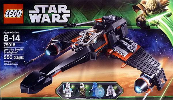 LEGO STAR WARS - 75018 - Jek-14's Stealth Starfighter 75018_10