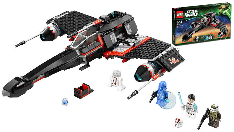 LEGO STAR WARS - 75018 - Jek-14's Stealth Starfighter 75018_11