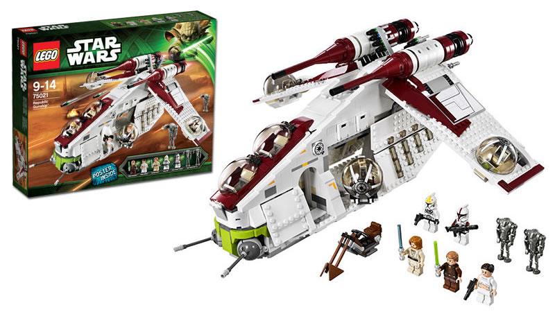 LEGO STAR WARS - 75021 - Republic Gunship 75021_10