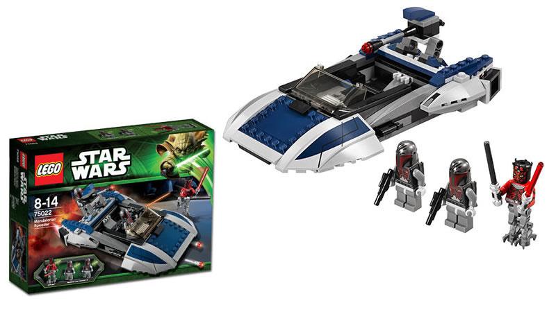 LEGO STAR WARS - 75022 - Mandalorian Speeder 75022_10