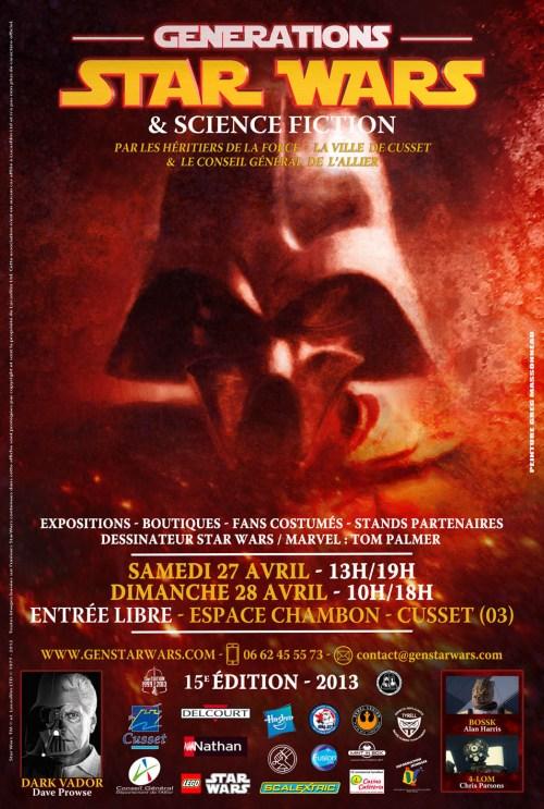 Générations Star Wars & SF - Cusset (03) 27-28 Avril 2013 - Page 4 Affich10