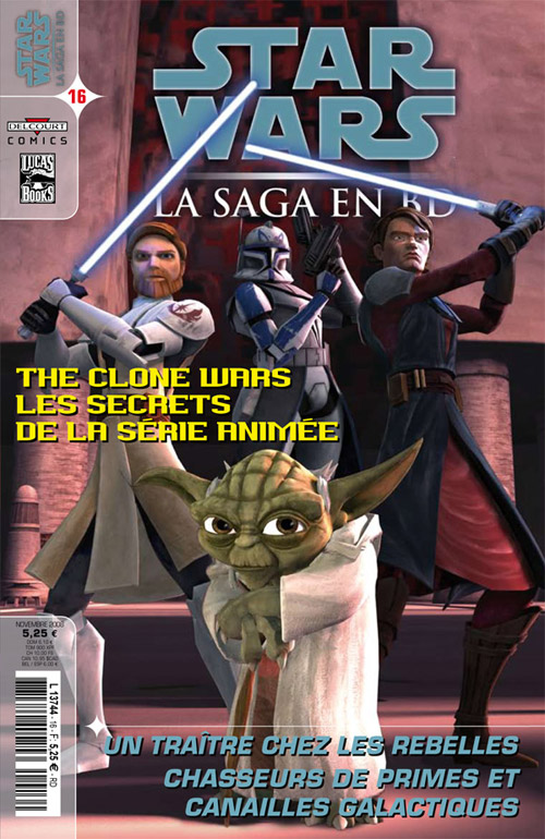 STAR WARS - LA SAGA EN BD #10 - #19 Comics10