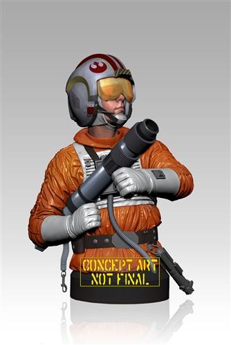 Gentle Giant - Luke Snowspeeder Pilot PGM Deluxe Mini Bust Mini_l10