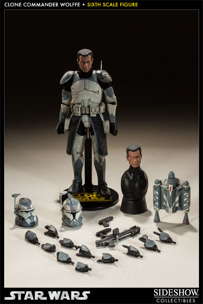 Sideshow Collectibles 1/6 Scale Clone Commander Wolffe  Wolffe11