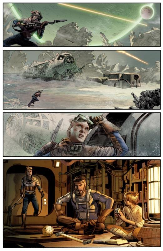 THE STAR WARS - Comics Dark Horse Wonder10
