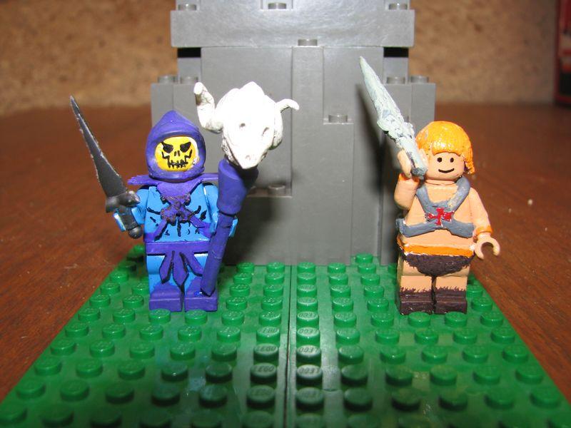 Customs lego  personnages de DA 80's de Fabax Motu10