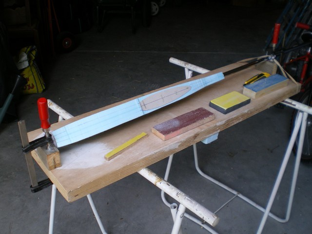 Réalisation d'un fuselage en moule perdu pour un hight aspec Imgp1311