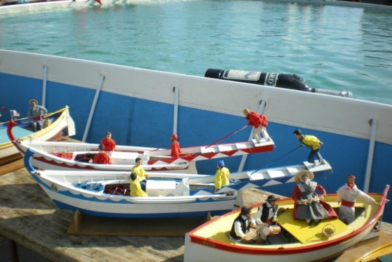 Barques de Joutes Mandréennes (de Saint Mandrier) Joute10