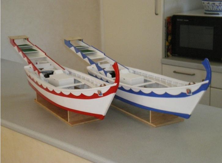 Barques de Joutes Mandréennes (de Saint Mandrier) Joutes26