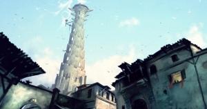 Périphérie de la tour de la guilde